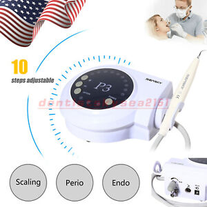 Seasky Dental P3 Ultrasonic Scaler Fit Dte Satelec Piezo Handpiece Tips Usa
