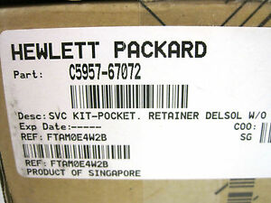 New Sealed Hp C5957 67072 Svc kit C595767072