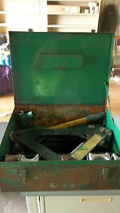 Greenlee 772 Swivel Top Conduit 1 2 Segment Bender 50175149 used Surplus 9