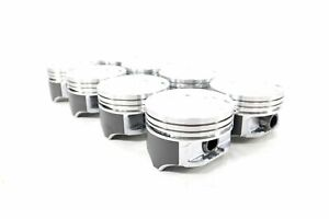 Chevy 7 4 454 Speed Pro Hypereutectic Coated Skirt Pistons Set 8 1991 95 Std