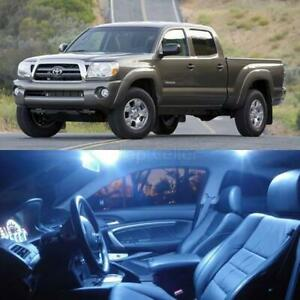 3 Pieces Xenon White Led Lights Interior Package Kit For 2005 2012 Toyota Tacoma