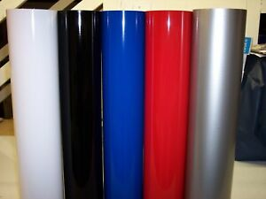 24 Sign Vinyl 5 Rolls 30 each Color 150 Total American Mfg
