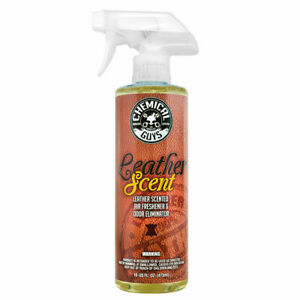 Chemical Guys Air10216 Leather Scent Air Freshener Odor Eliminator 16 Oz