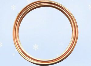 Refrigeration Tubing 1 2 O d Soft Copper 50ft Coil