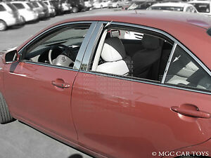 2012 2013 Toyota Camry 6pc Top Quality Chrome Pillar Posts Stainless Steel