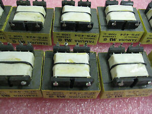 Tamura 3fs 424 Transformer Single 12vac 50a lot Of 10