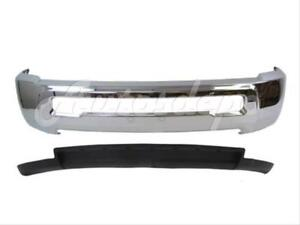 For Dodge Ram 2500 3500 2wd 2010 2012 Front Steel Bumper Chrome Air Dam W o Hole