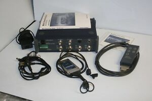 Ono Sokki Ds 2100 Multichannel Data Station W 0264 4 channel Input Pred Ds3000