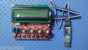 0 40mhz Ad9850 Dds Function Signal Generator Module Sweep Pc Software