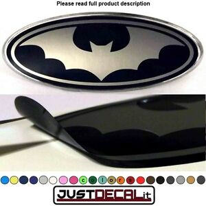 6 35x2 375 Bat Overlay Decal Sticker Logo Man Or Woman Fits Specific Ford Emblem