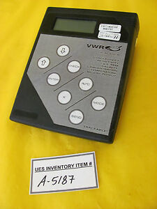 Vwr 61161 362 Digital Conductivity Bench Meter Used Working