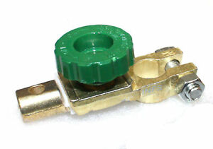 Lot 12 Auto Battery Terminal Disconnect Switch Link Brass Universal Fit