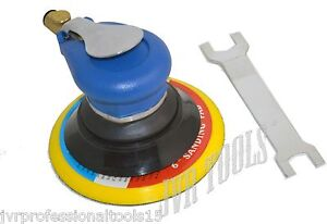 6 Air Random Orbital Palm Sander Heavy Duty Lightweight Compact Design