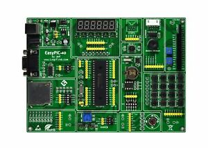 Pic16f 8 bit Mcu Development Study Learning Board Kit Pic16f877 877a