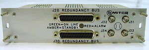 Miteq S97 s 138379 Rf Microwave Redundancy Bus Interface Module S97s
