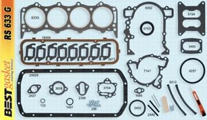 Buick pontiac 215 V8 Full Engine Gasket Set Best 1961 63 Head oil Pan exhaust