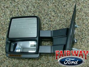 2007 Thru 2014 F 150 Oem Ford Power Heat Telescopic Trailer Tow Mirror Left