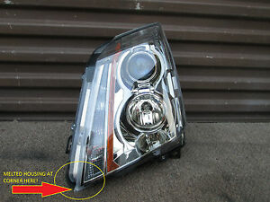 Cadillac Cts Left Driver Side Oem 2008 2013 Headlight Assembly Part 22783445