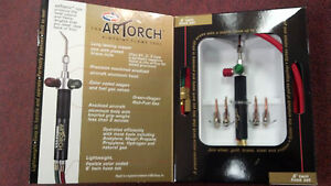 Uniweld Artorch Pinpoint Flame Tool With 6 Hoses Model Art1001b