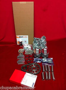 Chrysler 331 Hemi Master Engine Kit 1951 52 53 Pistons Rings Gaskets Bearings