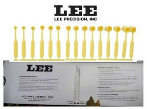 LEE Precision * Improved Powder Measure Kit * with 15 dippers # 90100 new!