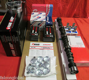 Chevy 400 Master Engine Kit 1970 71 72 73 74 75 76 77 350hp Cam 3863151 Pistons