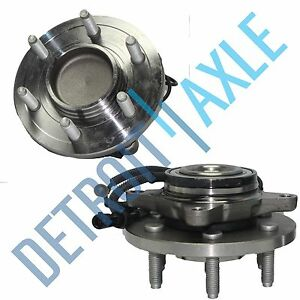 Front Wheel Hub Bearing Pair For 2007 2008 2012 Ford Expedition Navigator 2wd