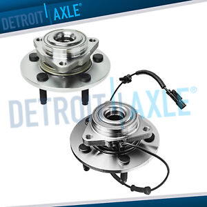 2 Front Wheel Bearing Hub Assembly W Abs For 2006 2007 2008 Dodge Ram 1500