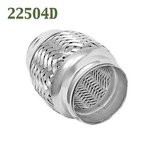 2 25 X 4 Flex Pipe Coupling Quality Stainless Steel Triple Ply