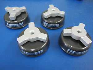 Lot Of 4 Anti vibrating Leveling Mounts Hi mount Km 100 hl Kurashaki Kako Co