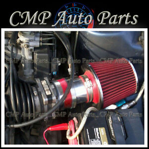 Red 1994 1996 Chevy Beretta Corsica Z26 3 1 3 1l V6 Air Intake Kit Systems Red