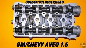 Gm Chevy Aveo 1 6 Dohc Cylinder Head Years 04 07 Rebuilt