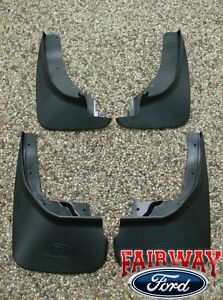 11 Thru 17 Explorer Oem Genuine Ford Molded Splash Guards Mud Flaps Set Of Four