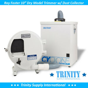 Ray Foster Mtd1c Dry Model Trimmer With Dust Collector Made In Usa New