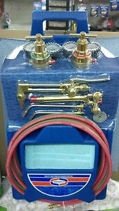Uniweld Kl550 4p t Master Welding Cutting Brazing Outfit Kit Tanks