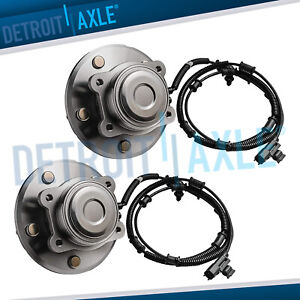 2 Rear Wheel Bearing And Hub Pair For 2008 2012 Grand Caravan Town