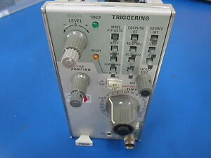 Tektronix Oscilliscope Time Base Module Model 7b80