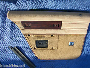1990 Chevy Caprice Estate Wagon Door Panel Left Rear Used Oem Chevrolet Part