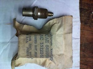 Jeep Willys M38 Dodge M37 Nos Early Temperature Sending Unit G 740 G 741