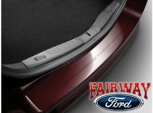 13 Thru 19 Fusion Oem Genuine Ford Parts Rear Bumper Protector With Logo New