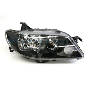 02 03 Protege 5 Hatchback Headlight Black Bezel Headlamp Right Passenger Side R