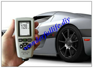 Digital Paint Coating Thickness Gauge Meter F n Probe Tester 1300um 51 2mils
