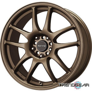 15 Drag Dr31 4 Lug Wheels Rims Scion Xa Xb Mini Cooper
