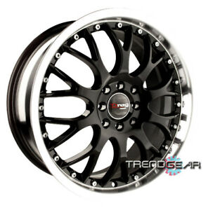 15 Drag Dr19 Black Wheels Rims Scion Xa Xb Mini Cooper