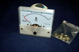 Dc 30a Analog Ammeter Panel Amp Current Meter 85c1 0 30a Dc Directly Connect
