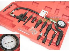 Diesel Compression Tester 4 Auto Cars Truck Tractor Engine Diagnosis Testing