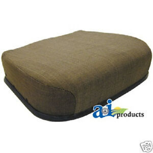 Brown Fabric Bottom Seat Cushion John Deere Cab Tractor Personal Posture aw