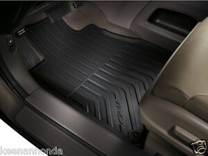 Genuine Oem Honda Cr V Black All Season Mat Set 2012 2016 Crv Mats