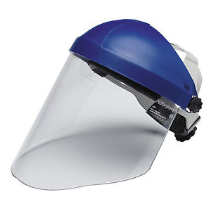3m Headgear Head Face Protection Polycarbonate Faceshield Lab Chemistry Hood