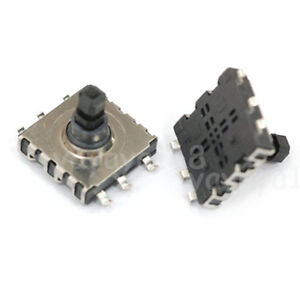 100pcs 5way Tact Switches Smt Smd 4 directional Center Pushbutton 10x10x9mm